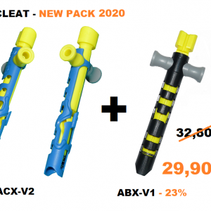 Pack of 2 – 1xKitecleat ACX-V2 + 1xABX-V1
