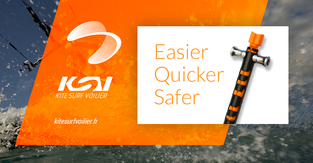 Kite Surf Voilier - Make kiteboarding easier, quicker and safer