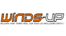 WINDS UP : des relevés de vent en directe, des prévisions météo, des webcams, des alertes vent et des petites annonces d'équipement pour le kitesurf et le windsurf!